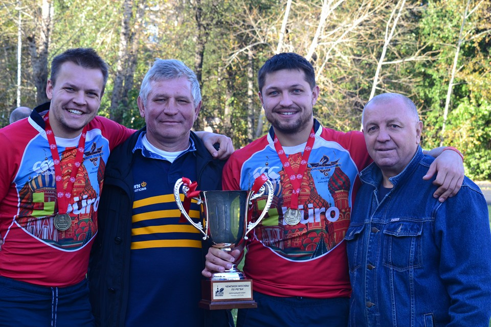 Moscow Dragons RFC - Fathers & sons
