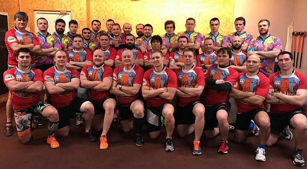 Moscow Dragons Rugby Football Club est. in 1997
